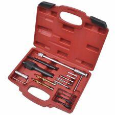16 pcs Damaged Glow Plug Removal Remover Thread Repair Car Garage Tool Kit Set