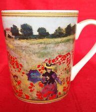 Porcelain Mugs x 2 Casa Domani Impressions Monet - Poppy Field & Monet's Garden