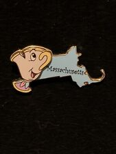 Disney State Character Pins Massachusetts Chip from Beauty And The Beast Pin