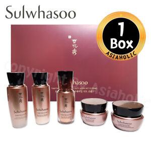 Sulwhasoo Timetreasure Ultimate Kit (5items) Water+Emulsion+Serum+Eye+Cream New