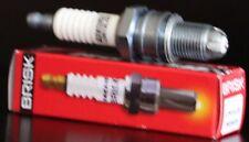 1X Brisk LOR12LGS Spark Plug Yamaha MX250 WR250Z YZ250 YZ250A YZ250E YZ250G 250