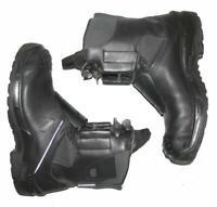 """schwere """" HAIX """" Herren - Motorradstiefel / Stiefel / Boots in schwarz ca. 44,5"""