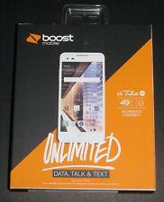 Brand New Sealed LG Tribute HD White 16GB Boost Mobile 4G LTE Prepaid Smartphone