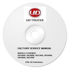 2011-2013 UD Truck 1800 2000 2300 2600 2800 3300 Repair Service Shop Manual Pdf