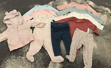0-3 month baby girl clothes lot Spring Pants Long Shirts And Jacket
