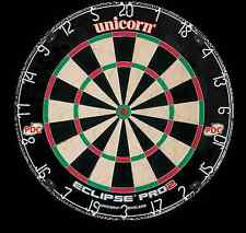 NEW Unicorn Eclipse Pro 2 Dartboard - As seen on TV - PDC - Steel Tip Dart Board