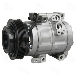 A/C  Compressor And Clutch- New   Four Seasons   98120