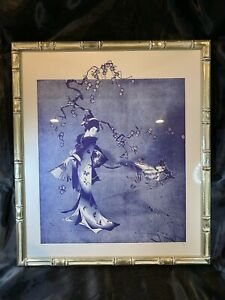 "Joy Dunn Etching Very RARE ""Kimono"" signed 79/500 With Cert b760"