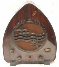 """antigua radio a valvulas """"LATA DE JAMON"""" PHILIPS 930  rare TUBE RADIO de 1931"""