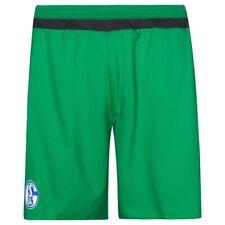 Adidas Schalke 04 3RD Juego Calzones Verde HOMBRE Fútbol 5 Un Lado Nuevo