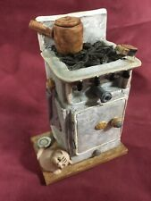 EARLY PETER FAGAN COLOUR BOX CATS GAS STOVE HS215
