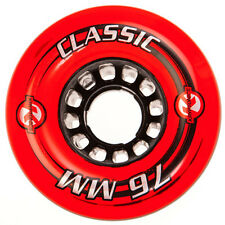 76mm x 45mm x 80a Kryptonics Classic Longboard Wheel, Set of 4 Wheels