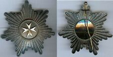Médaille  - Ordre de Malte ? EE plaque de poitrine