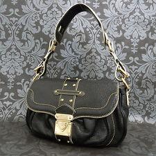 Rise-on LOUIS VUITTON Cuir Black Suhali Le Confident Shoulder bag Handbag #1