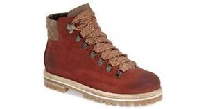 Agl Attilio Giusti Leombruni Ankle Boots Moto Hiker Nubuck Combat Booties 37