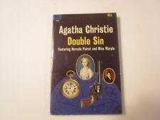 Double Sin, Agatha Christie, Hercule Poirot, Miss Marple, 45c Paperback, 1964