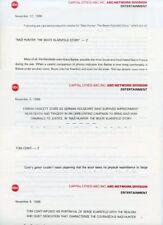 FARRAH FAWCETT TOM CONTI BEATE KLARSFELD STORY RARE 1986 ABC TV PRESS MATERIAL