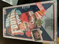 1991 UPPER DECK FOOTBALL Premiere edition PACK BOX-FACTORY SEALED--JOE Montana