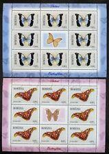 2011 Butterflies,Schmetterlinge,Papillons,Farfalle,Romania,Mi.6509,KB,CV$125,MNH