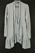 Daisy Fuentes Women's Medium Long Sleeve Cotton Open Front Cardigan Sweater