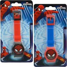 Marvel SPIDER-MAN 2pcs Digital LCD Wrist Watch For Boys Kids Birthday