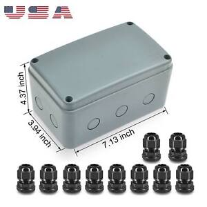 Outdoor Waterproof Power Box ABS Plastic IP66 Junction Box Electric Control Box