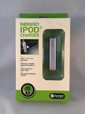 New iCharge Brand iPod Emergency Charger AA Battery Powered Portable (HN)