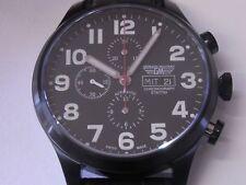 German military fliegerchronograph ETA/valjoux 7750 Acier inoxydable NEUF