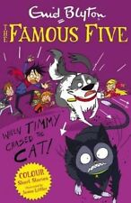 When Timmy Chased the Cat (Famous Five Short Stories)-ExLibrary