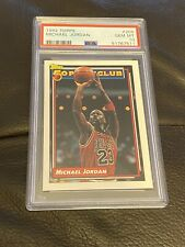 1992 Topps #205 Michael Jordan PSA 10 Chicago Bulls 50 Point Club 💥