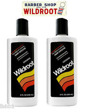Wildroot Hair Cream Oil Hair tonic Original Barbers choice for Men  2 - 8 oz.
