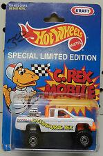 KRAFT PROMO C REX MOBILE CHEVY 4X4 PICKUP TRUCK CHEESASAURUS FORD HW HOT WHEELS