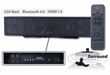 Auvisio 6-kanal 3D barra de sonido 5.1 Sorround Bluetooth 4.0 HDMI 250watt