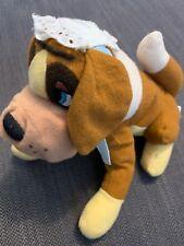 "Vintage Nana Peter Pan Disney Store 7"" Bean Bag Plush Doll Dog USED"