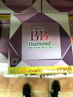 Mistine BB Diamond Super Pressed Powder Blemish Foundation SPF25 From Korea #S1