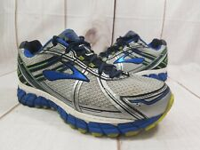 Brooks Adrenaline GTS 15 Gray Blue Athletic Training Running Shoes Men's 8  (4E)