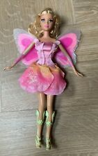 BARBIE MATTEL ELINA DOLL FROM FAIRYTOPIA WITH LIGHT UP  BUTTERFLY WINGS