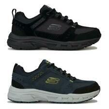Zapatillas para hombre Skechers Roble Canyon al aire libre en negro y azul marino