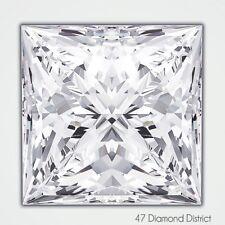 2.02ct. G-VS2 Ex Polish Princess Cut AGI Certified Diamond 6.65x6.64x5.24mm