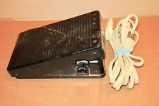 Vintage Bernina 730 Record Sewing Machine Foot Control Pedal w/ Power Cord AS IS