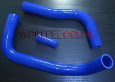 Blue silicone radiator hose for TOYOTA Landcruiser HJ75 2H