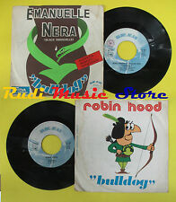 LP 45 7'' BULLDOG Black emanuelle ners Robin hood 1975 italy BLUE no cd mc dvd *