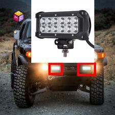 6'' LED Light Bar Side X Side Yamaha Rhino Viking VI Grizzly SXS Sand Quad ATV