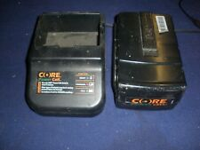 CORE CGT 400 Battery and Charger......