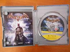 PS3 GAME BATMAN ARKHAM ASYLUM PLATINUM GAME OF YEAR EDTN WITH MANUAL VGC