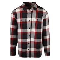 Vans Off The Wall Men's Black Kyle Walker Plaid L/S Flannel Shirt (S02)