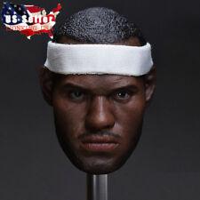 1/6 LeBron James Head Sculpt For Enterbay TBLeague Hot Toys Male Figure ❶USA❶