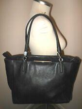 Coach Madison Saffiano Leather East/West Tote Bag Large Black 29002