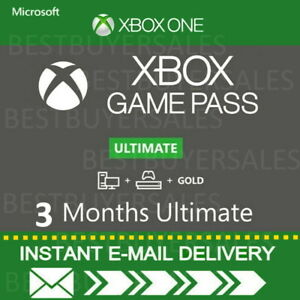 XBOX LIVE GAME PASS Ultimate 3 Months 6 x 14 Day (84 Days) - LIVE GOLD+GAMEPASS