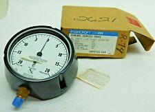 New Old Stock Ashcroft 45 20 Psi Vacuum 20 Psi Pressure H20 Water Gauge Pi